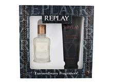 Eau de Toilette Replay Jeans Original! For Him 30 ml Cofanetto