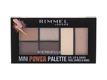 Make-up kit Rimmel London Mini Power Palette 6,8 g 003 Queen