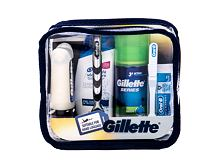 Rasoio elettronico Gillette Mach3 Travel Kit 1 pz Cofanetto