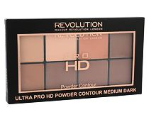 Cipria Makeup Revolution London Ultra Pro HD Powder Contour Palette 20 g Medium Dark