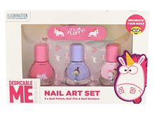 Smalto per le unghie Minions Unicorns 4 ml Cofanetto