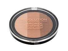 Cipria Makeup Revolution London Ultra Bronze, Shimmer And Highlight 15 g