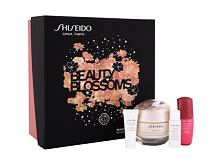 Crema giorno per il viso Shiseido Benefiance Beauty Blossoms 50 ml Cofanetto
