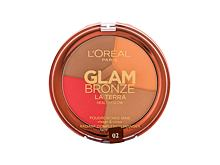 Bronzer L´Oréal Paris Glam Bronze La Terra Healthy Glow 6 g 02 Medium Speranza