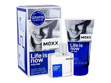 Eau de Toilette Mexx Life Is Now For Him 50 ml Cofanetto