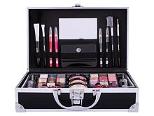 Make-up kit 2K Fabulous Beauty Train Case Black 66,9 g