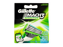 Lama di ricambio Gillette Mach3 Sensitive 4 pz