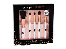 Pennelli make-up 2K Let´s Get Perfect! 1 pz Cofanetto